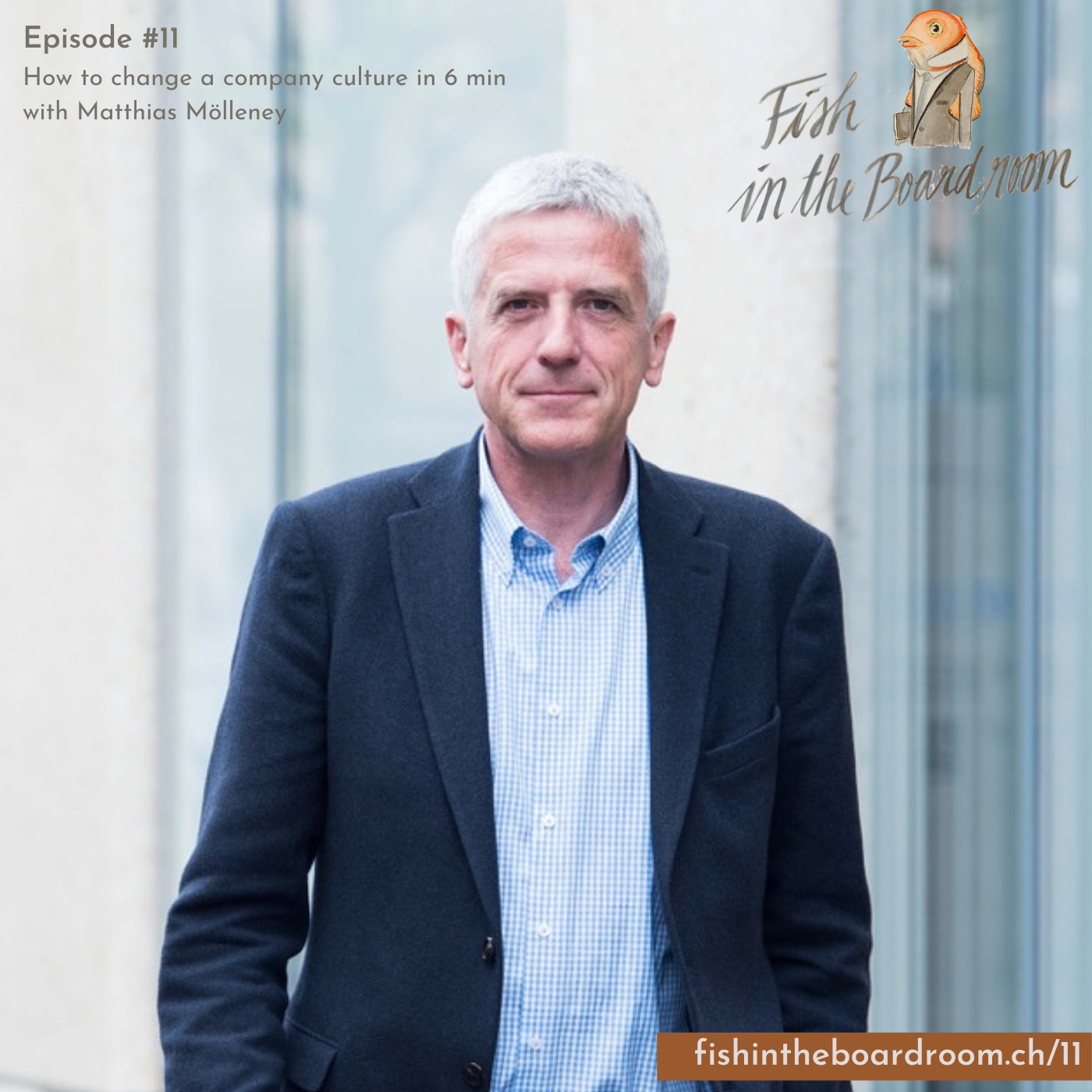 Fish in the Boardroom podcast Episode #11 How to change company culture in 6 min Interview with Matthias Mölleney